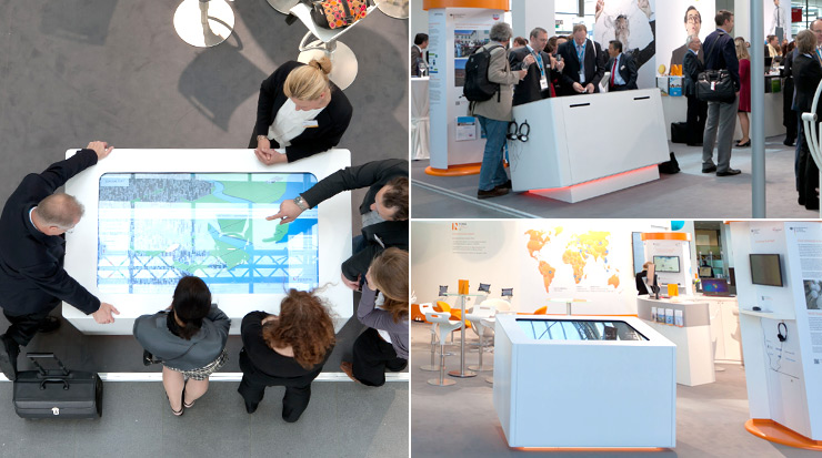 Our Touch Terminal at IFAT Fair in München 2012